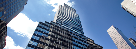 Exterior shot of Regus 600 Third Avenue, New York