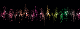 A colourful voice soundprint